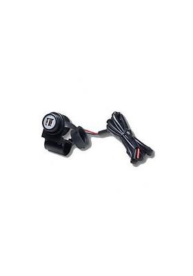 MP-H-2USB KIT ALIMENTAZIONE DA MANUBRIO CON 2 USB