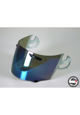 ARAI AR9310 VISIERA SAL CHASER/RX7/VIPER MIRROR BLUE VISOR