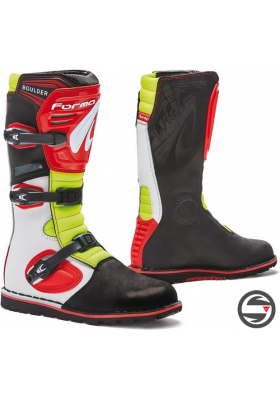 FORMA TRIAL BOOTS BOULDER WHITE RED YELLOW