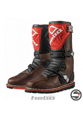 STIVALI TRIAL HEBO TECHNICAL 2.0 LEATHER NTR RED HT1012
