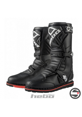 STIVALI TRIAL HEBO TECHNICAL 2.0 LEATHER NERO HT1012