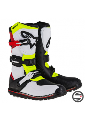 TECH-T (2351) WHITE RED YELLOW FLUO NEW