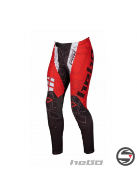 HE3136R PANT TRIAL PRO JUNIOR RED