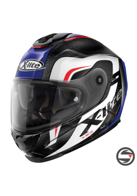 X-903 ULTRA CARBON MAVEN 042 BLUE BLACK WHITE RED