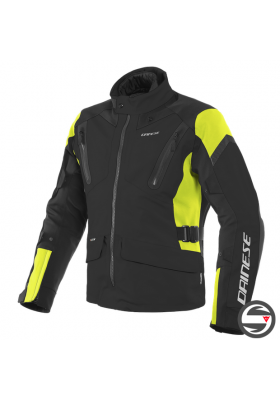 TONALE D-DRY XT JACKET R17 BLACK YELLOW FLUO