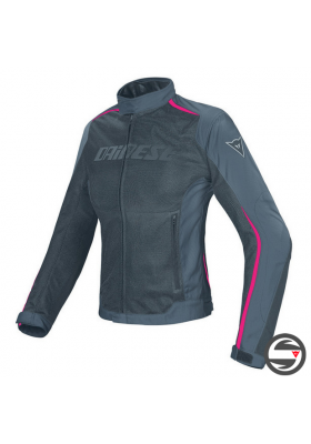 D-DRY HYDRA FLUX LADY JACKET U83 BLACK EBONY FUCHSIA