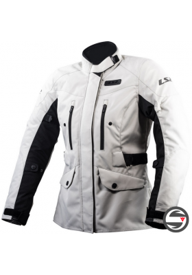 METROPOLIS LADY JACKET LS2 LIGHT GREY