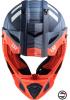 MX437 FAST EVO XCODE MATT ORANGE BLUE