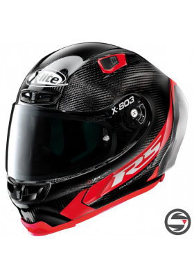 X-803 RS ULTRA CARBON HOT LAP 013 BLACK RED