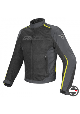 D-DRY HYDRA FLUX JACKET P76 BLACK GRAY FLUO-YELLOW