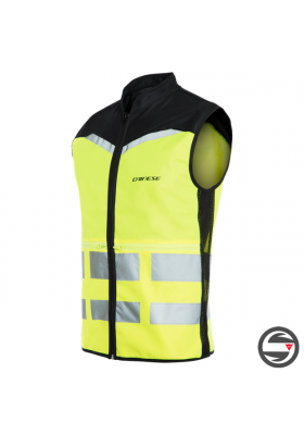 GILET HIGH VIS VEST EXPLORER FLUO-YELLOW DAINESE