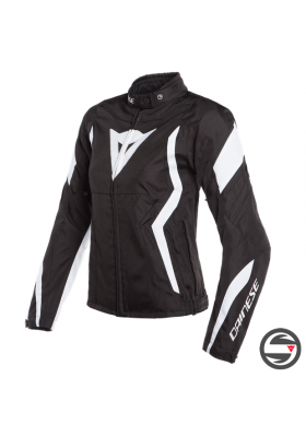 EDGE LADY TEX JACKET 78A BLACK WHITE