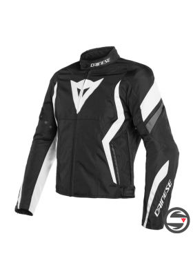 EDGE TEX JACKET 76A BLACK WHITE EBONY