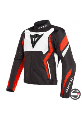EDGE TEX JACKET N32 BLACK WHITE FLUO-RED