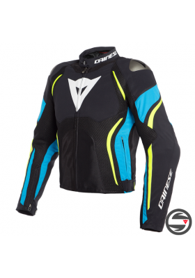ESTREMA AIR TEX JACKET 07A BLACK FIRE BLUE FLUO