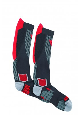 D-CORE HIGH SOCK RED