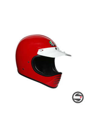 X101 AGV SOLID 003 RED
