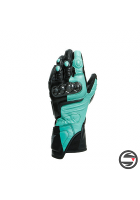 CARBON 3 LADY GLOVES 18D BLACK AQUA-GREEN ANTHRACITE