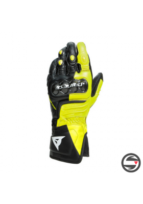 CARBON 3 LONG GLOVES P86 BLACK FLUO-YELLOW WHITE