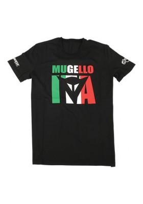 T-SHIRT MUGELLO D1 001 BLACK