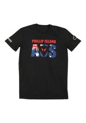 T-SHIRT PHILLIP ISLAND D1 BLACK