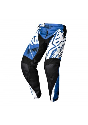 ALPINES. YOUTH RACER PANT 71 BLUE BLACK