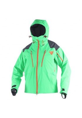 PROTEO D-DRY JACKET EDEN-GREEN LIGHT-RED