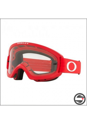 OAKL 7116-18 NEW O2 PRO XS MOTO RED CLEAR LENS