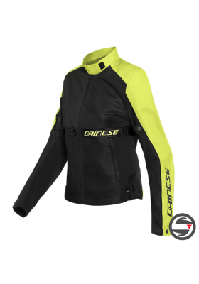 RIBELLE AIR LADY TEX JACKET 620 BLACK YELLOW