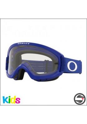 OAKL 7116-14 NEW O2 PRO XS BLUE MATT CLEAR LENS