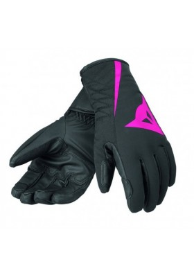 JR RACE 13 (C) GLOVE BLACK FUCHSIA