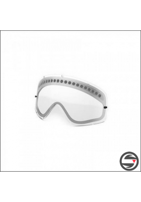 OAKL VIS NEW O-FRAME DUAL VENTED CLEAR