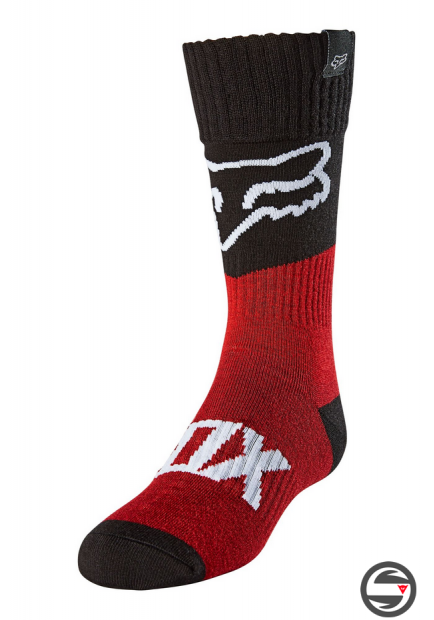 25900-122 YOUTH FOX SOCK REVN FLAME RED