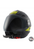 BLAUER BRAT JET HELMET H119 BLACK MATT YELLOW