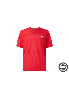 OAKLEY CASCADE TRAIL TEE RED