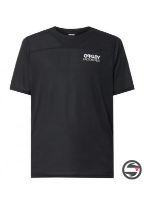 OAKLEY CASCADE TRAIL TEE BLACK
