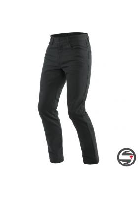 CASUAL SLIM TEX PANTS 001 BLACK DAINESE