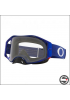 OAKL 7046-A7 AIRBRAKE MX BLUE METAL CLEAR LENS