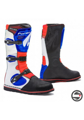FORMA TRIAL BOOTS BOULDER NEW EDITION 981011 BLUE WHITE RED