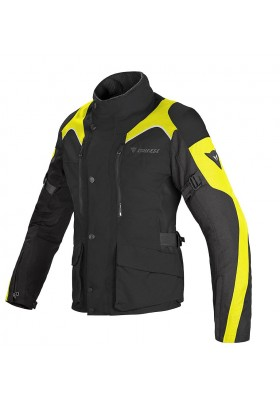 D-DRY TEMPEST LADY JACKET NERO GIALLO FLUO