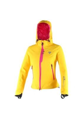 NEREIDE D-DRY JACKET LADY LEMON-CHROME FUCHSIA-PURPLE