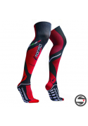 FORMA OFFROAD LONG COMPRESSION SOCK BLACK RED