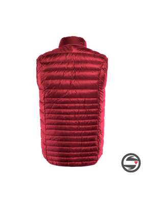 PACKABLE DOWNVEST MAN Y44 CHILI-PEPPER