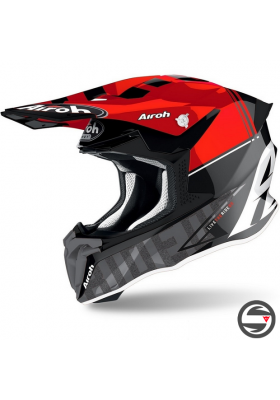 AIROH TWIST 2.0 TECH RED GLOSS TW2T55