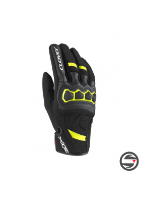 AIRTOUCH-2 SUMMER GLOVES BLACK YELLOW CLOVER