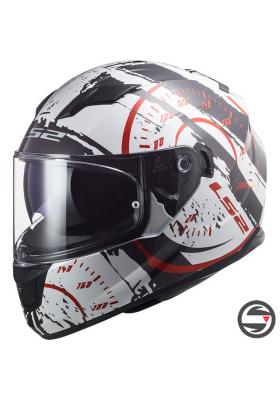 FF320 STREAM EVO TACHO GLOSS WHITE BLACK RED