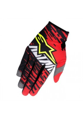 RACER BRAAP GLOVES 2016 - 312 RED BLACK WHITE
