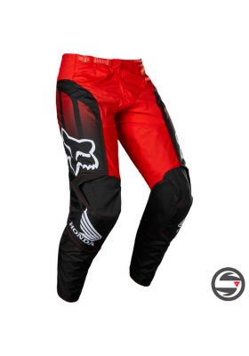 28153-017 180 HONDA PANT BLACK RED