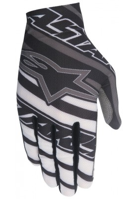 DUNE GLOVES 1531 BLACK WHITE GRAY