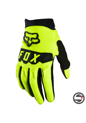 25868-130 YOUTH DIRTPAW GLOVE FLUORESCENT YELLOW
